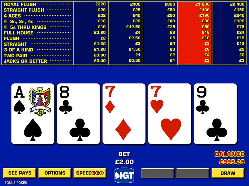 Number of Poker Game