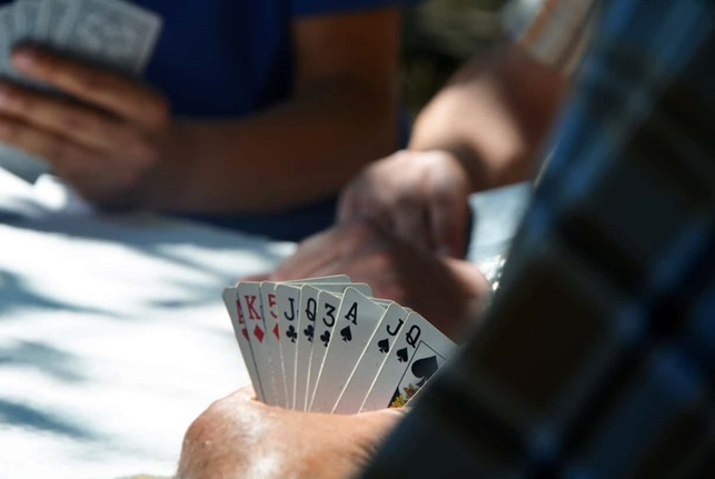 the poker room and win big